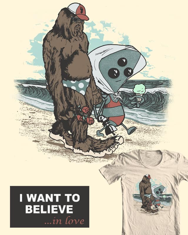 I Want to Believe in Love by robbielee on Threadless