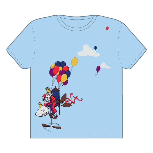 Royal Flying Machine by bdling on Threadless