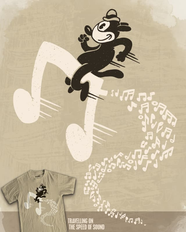 Travelling on the Speed of Sound by WanderingBert on Threadless