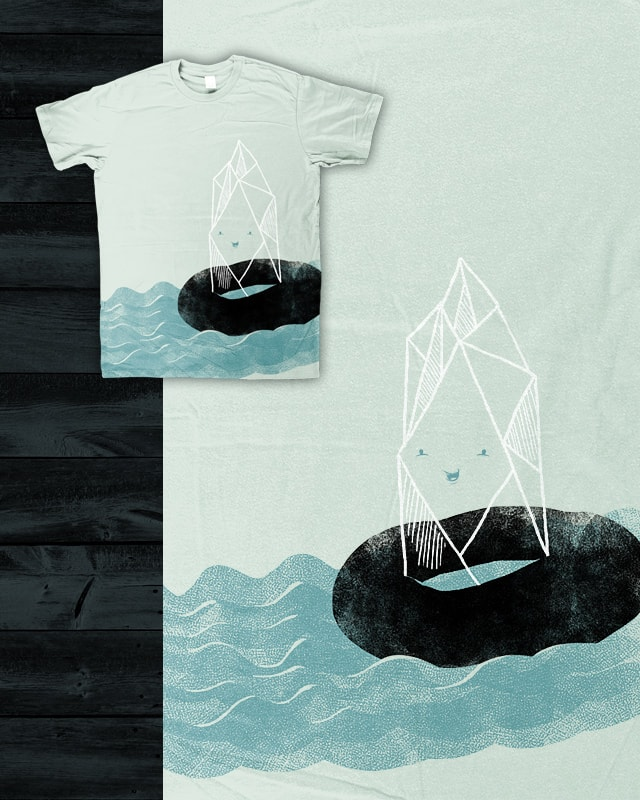 Iceberg Water Tubing by hikay on Threadless