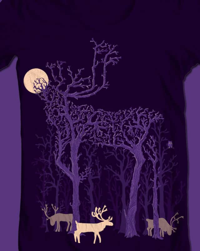 Legend of the Reindeer by mismonaut on Threadless