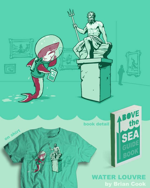 Water Louvre by briancook on Threadless