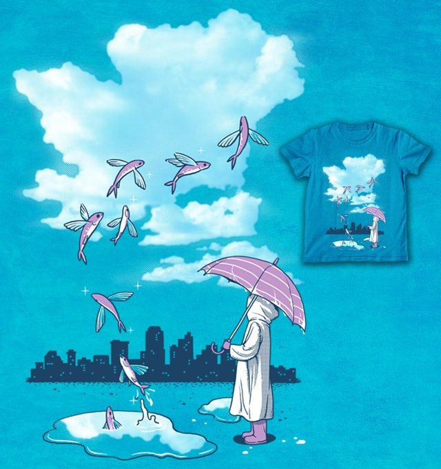 The Slough After Rain by ben chen on Threadless