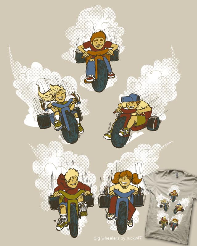 Big Wheelers by nickv47 on Threadless