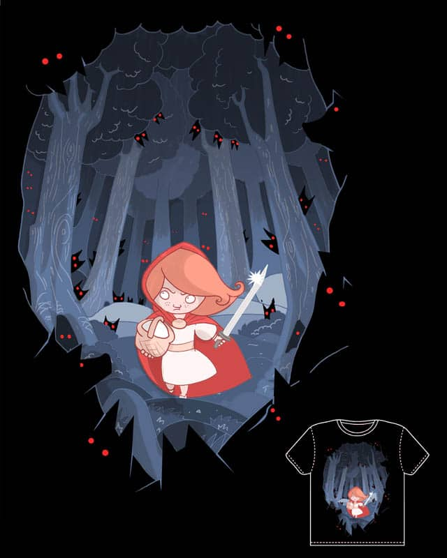 Alone in the forrest. by queenmob on Threadless