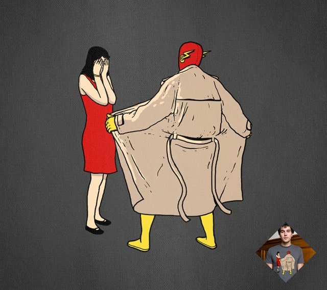 The Flasher by tenso on Threadless