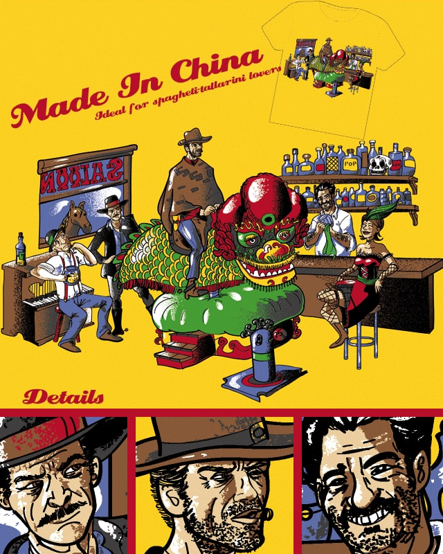 Made in China by jogarbel on Threadless