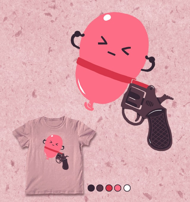 Bslloon Russian Roul ette by ben chen on Threadless