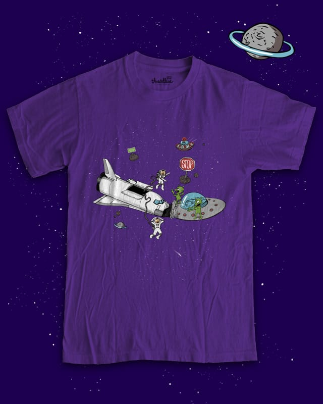 Shuttle Kerfluffle by FRICKINAWESOME on Threadless