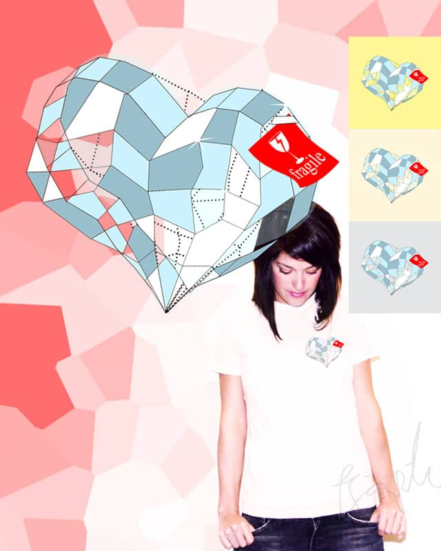 GLASS-MADE HEART by ejaboy on Threadless