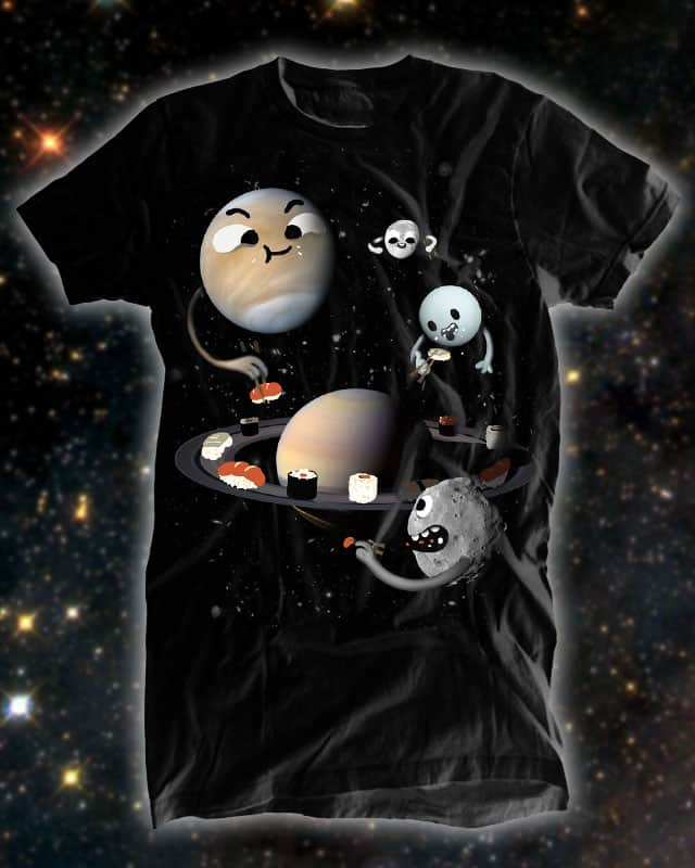 Space sushi by Aphte on Threadless
