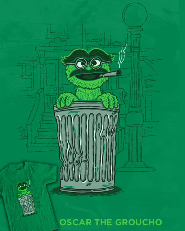 Oscar the Groucho by WanderingBert on Threadless