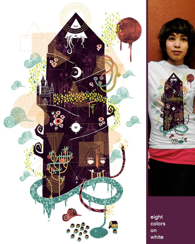 The Ominous and Ghastly Mont Noir by againstbound on Threadless