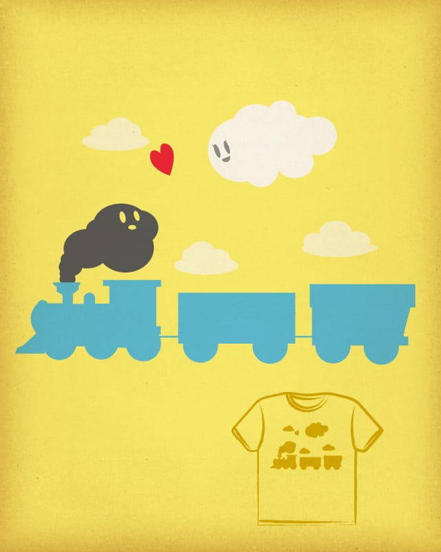 Love at first sight by the Sleeping Sky on Threadless
