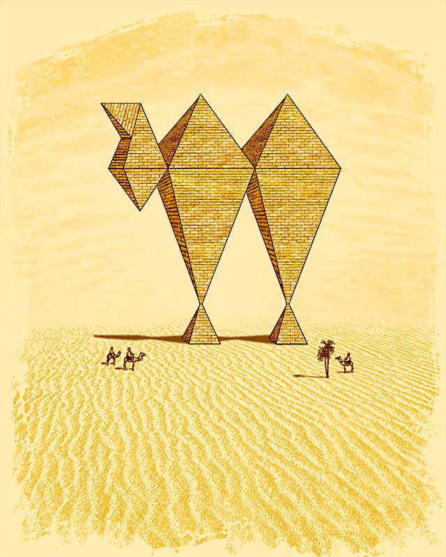 Pyramirage by quister on Threadless