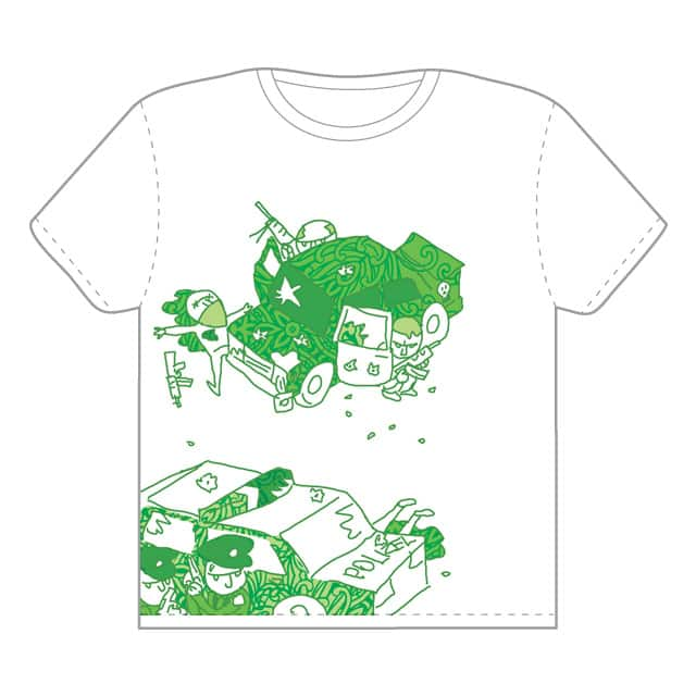 Green Car Fight by Skull Leader on Threadless