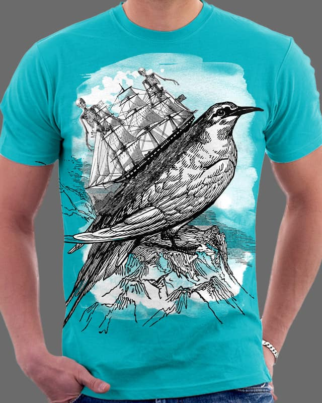 Shipping the Dead by Oiseau83 on Threadless