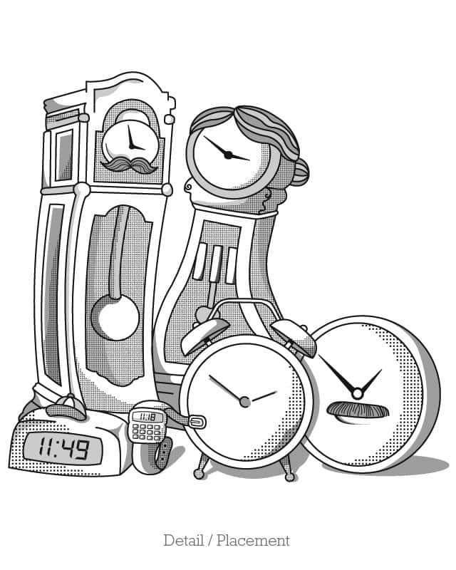 """Time"" for a Family Portrait by Bakpak Mak on Threadless"