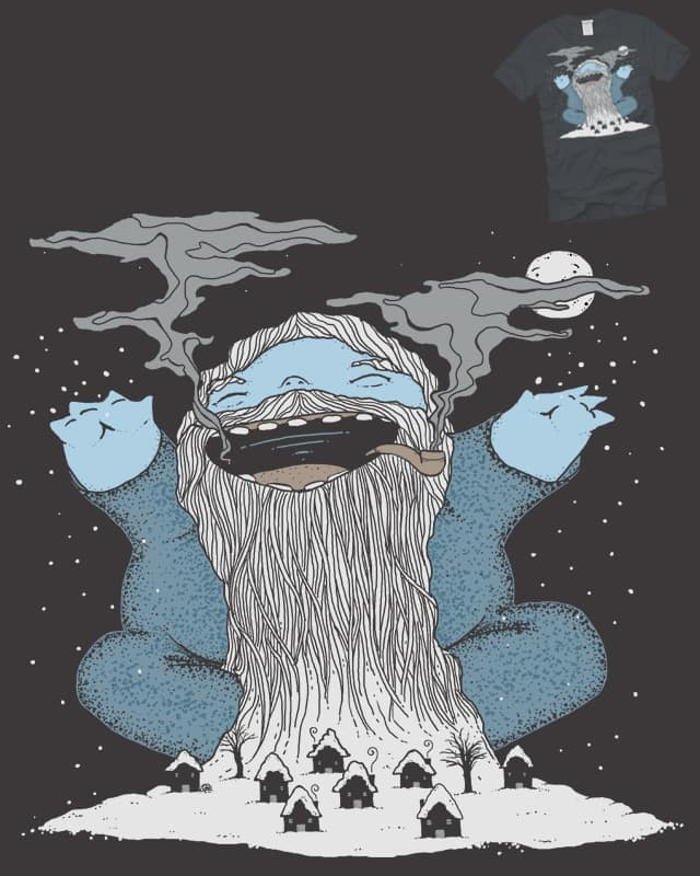 Old Man Winter is at it again. by EdgarRMcHerly on Threadless