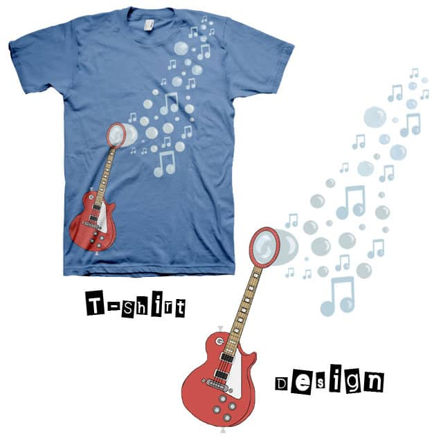 Follow the Music by elf09 on Threadless