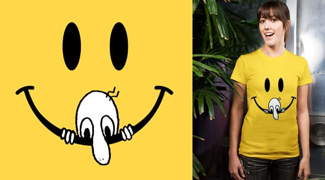 Kilroy and Smiley by TangYauHoong on Threadless
