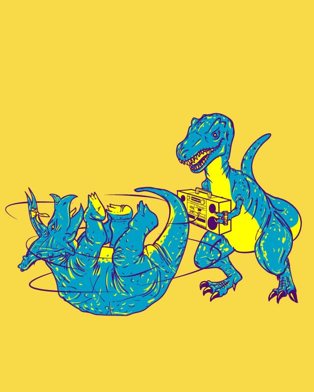 Prehistoric B-Boys by biotwist on Threadless