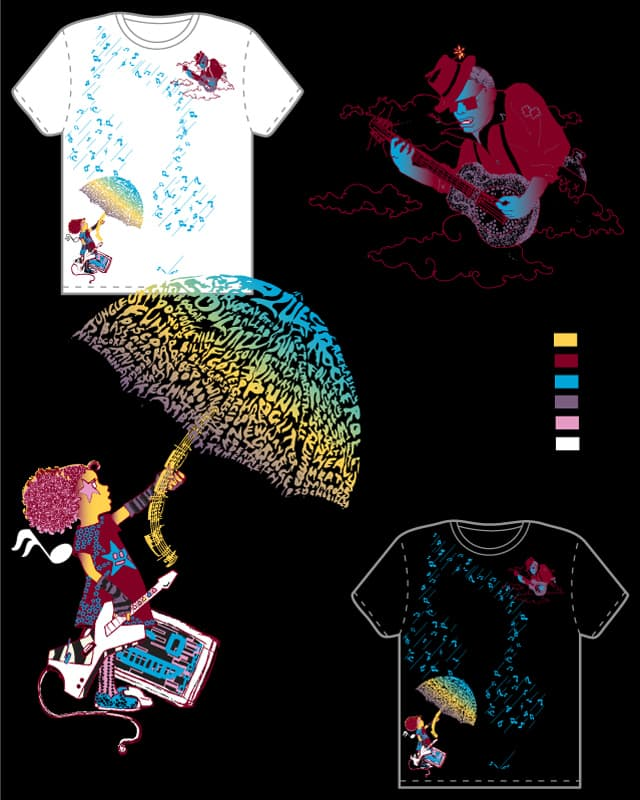 Stompbox Boogie by ComicTopGun on Threadless