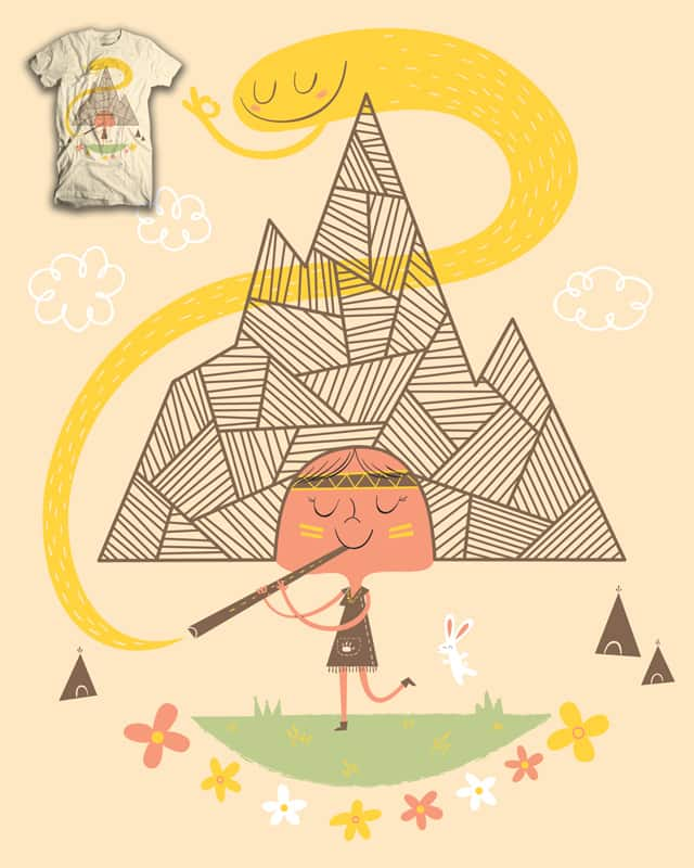 Little Mountain Song by zackOlantern on Threadless