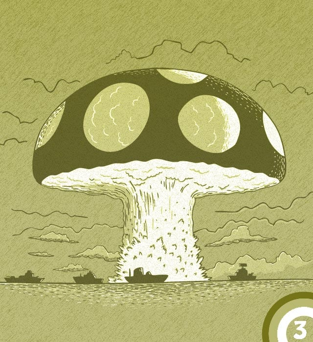 atomic bomb, 1946 by childmirror on Threadless