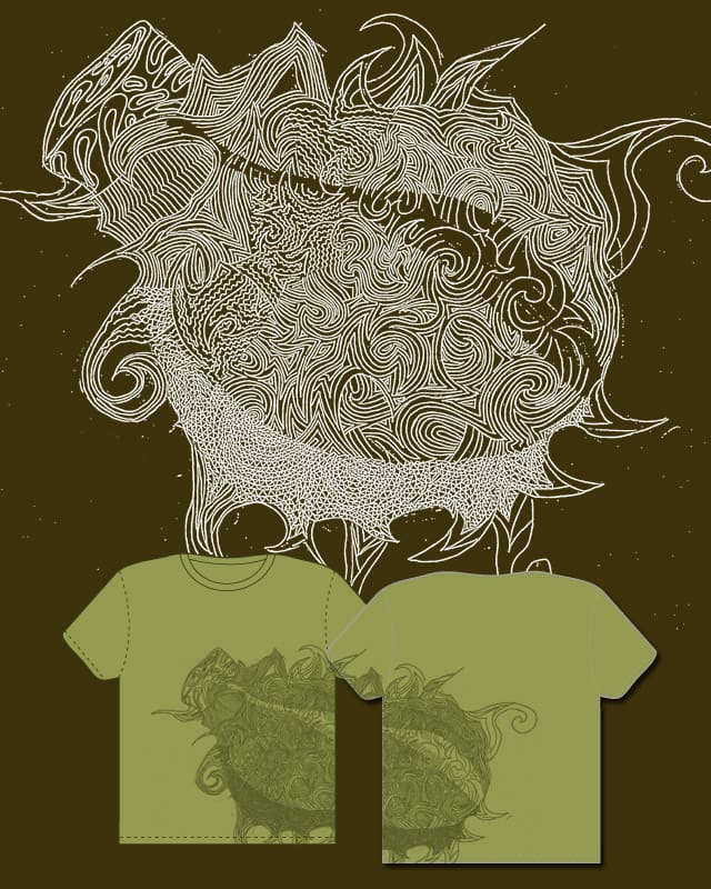 champagne supernova by shuntung on Threadless