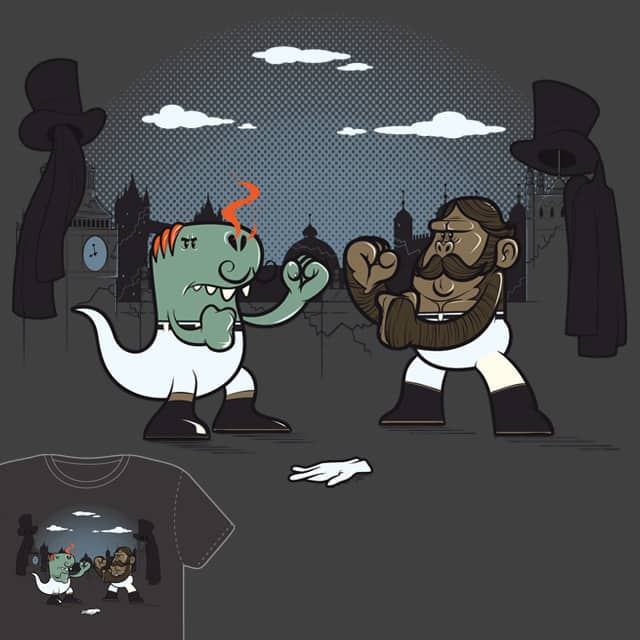 Gentleman's rampage by Ian-S on Threadless