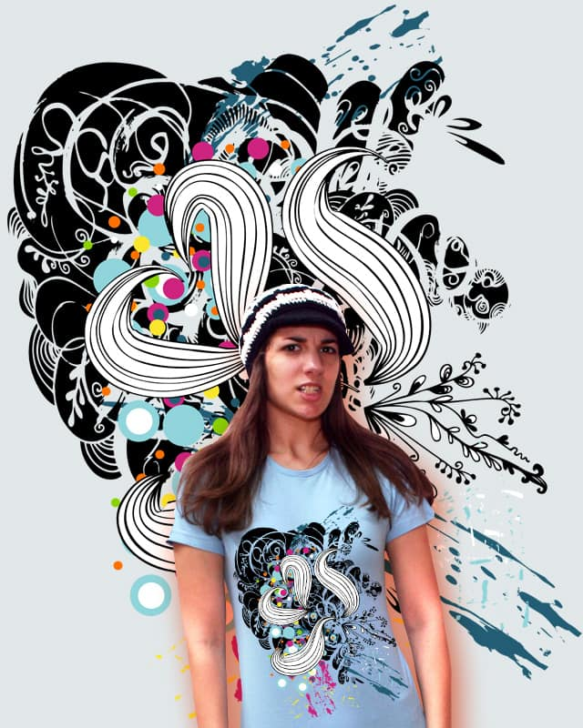 abstract love by nirmak on Threadless