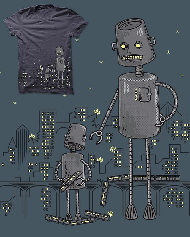 Bad Robot by heavyhand on Threadless