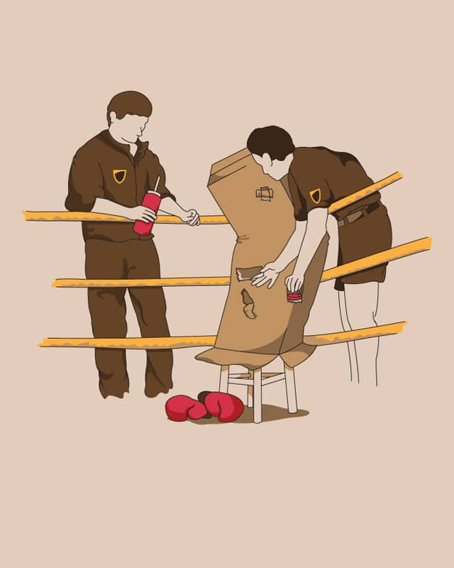 Boxing by Bakpak Mak on Threadless