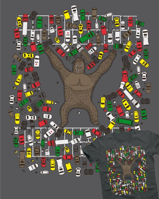The king of the parking! by ReadyStyle on Threadless