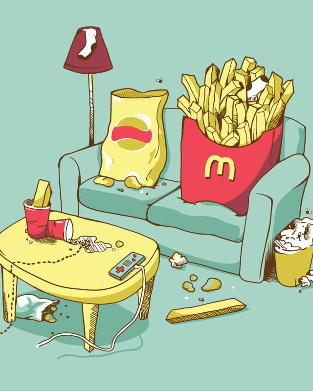 Couch Potatoes by Bakpak Mak on Threadless