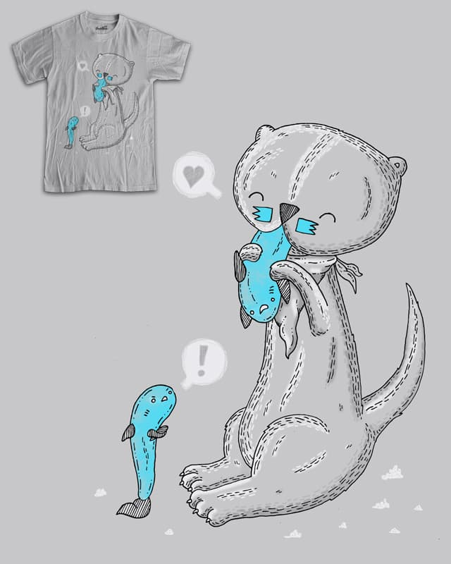 My tasty friend by randyotter3000 on Threadless