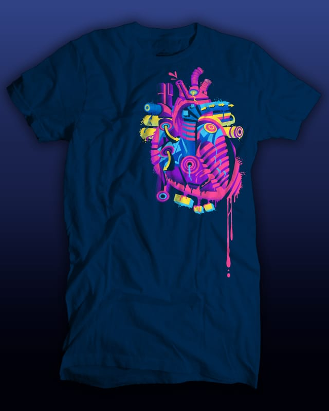 Abstract Autopsy by Ste7en on Threadless