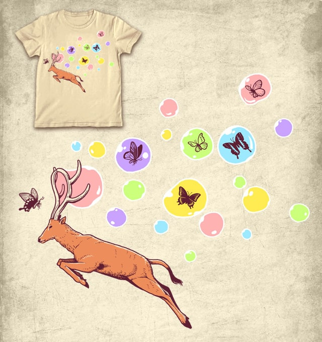catching butterflies by ben chen on Threadless