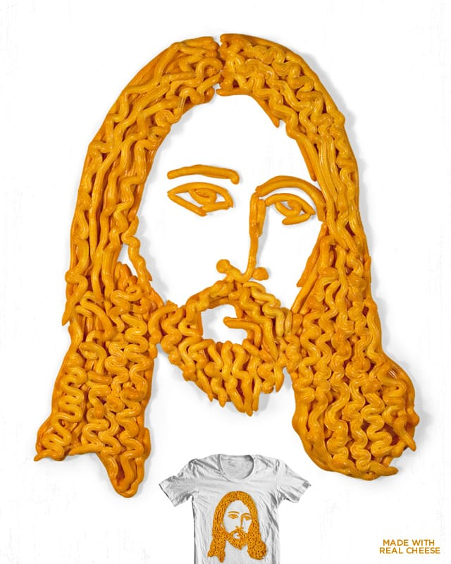 Cheesus by murraymullet on Threadless