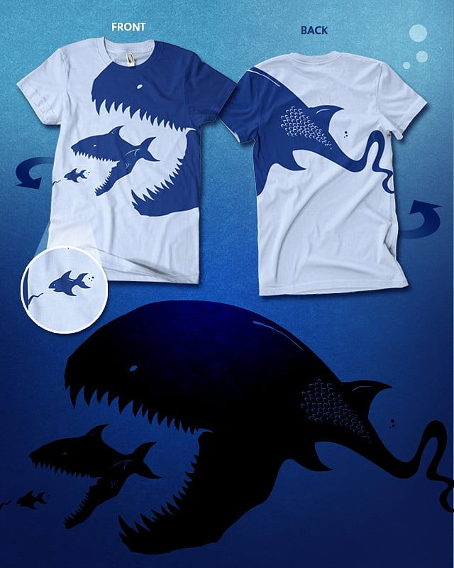 There's always a bigger fish by Winter the artist on Threadless