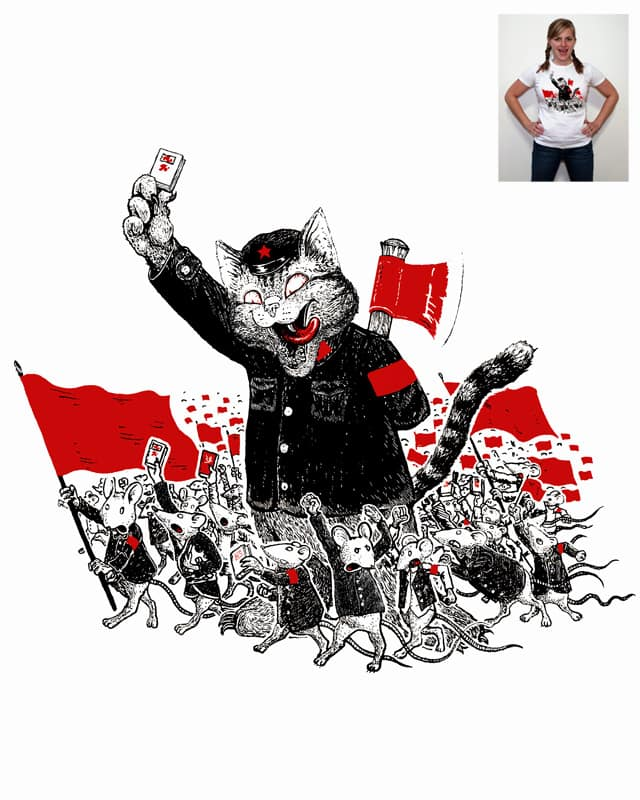 maow's little red book by choubaka360 on Threadless
