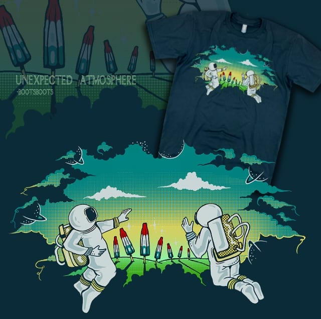Unexpected Atmosphere by BootsBoots on Threadless