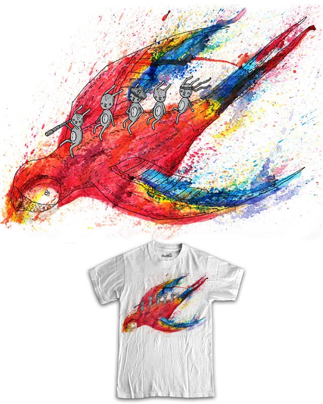 Take us to the coloured water MK2 by randyotter3000 on Threadless