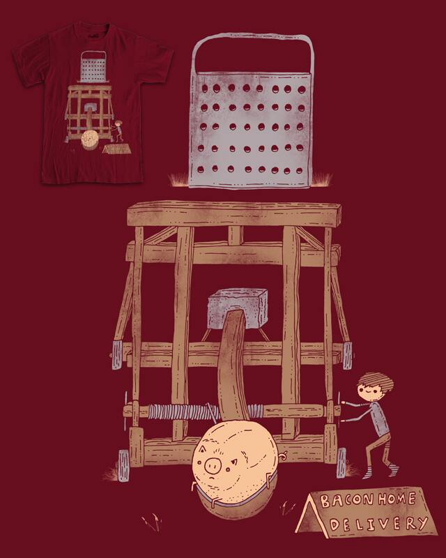 Bacon maker by randyotter3000 on Threadless