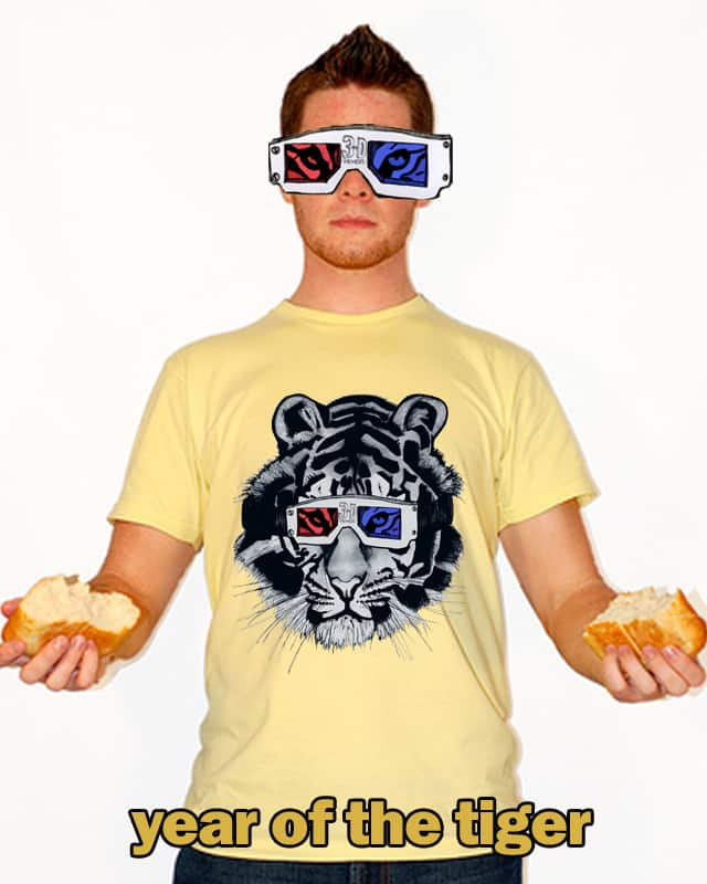 year of the tiger by louisfari on Threadless