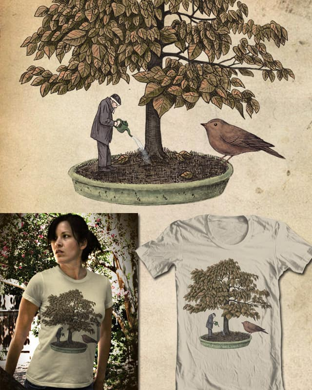 Secret of the Bonsai by igo2cairo on Threadless