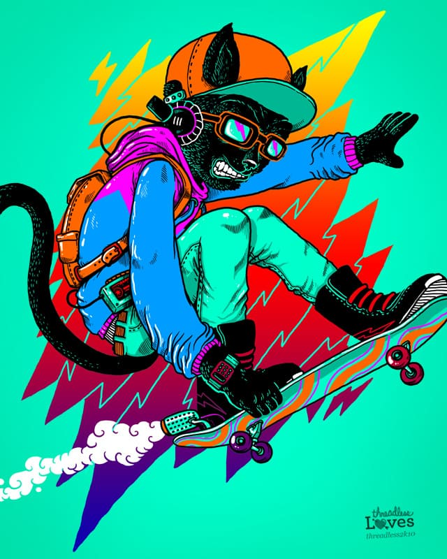 Cool Cat by alexmdc on Threadless