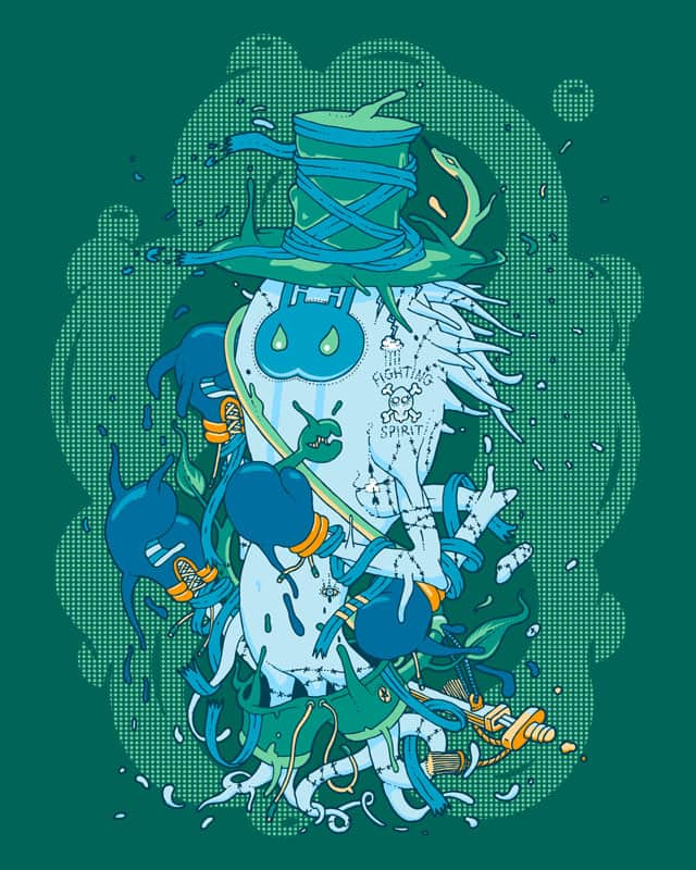 Fighting Spirit by Larsene on Threadless