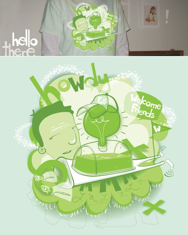 the howdy by corey9 on Threadless